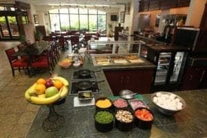 breakfast is ready at Black Bear Inn & Suites