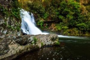 Abrams Falls in Smoky Mountains