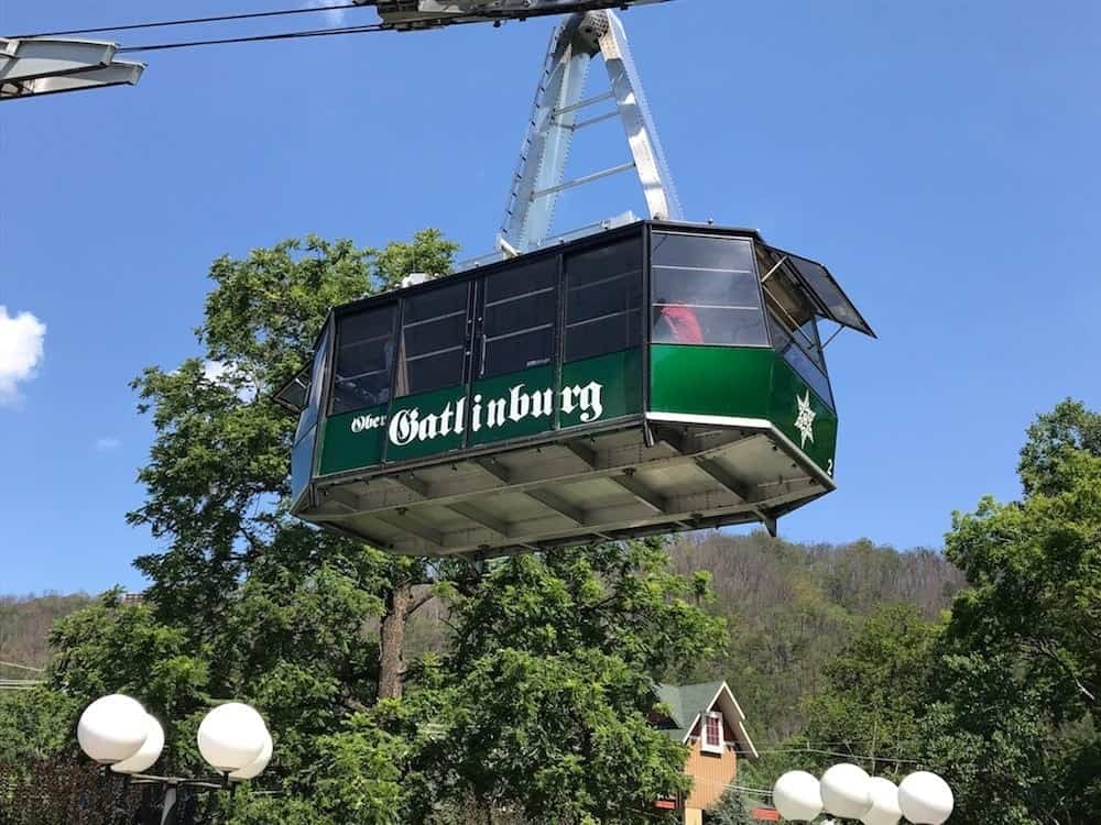 aerial tramway to ober gatlinburg