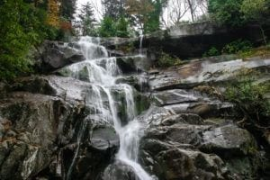ramsey cascades in the great smoky mountains